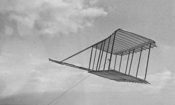 Первый прототип самолета братьев Райт