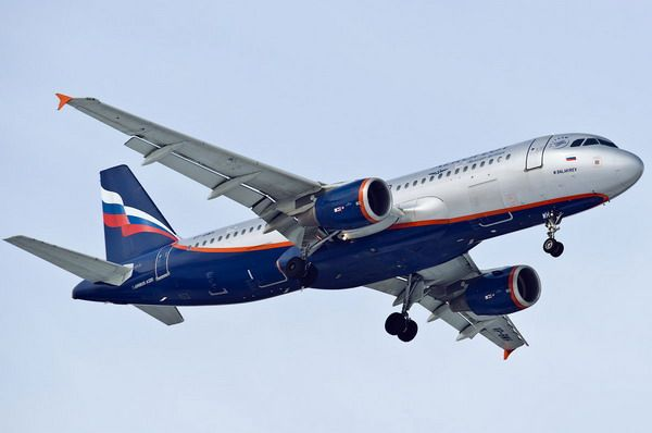 Самолет компании Аэрофлот