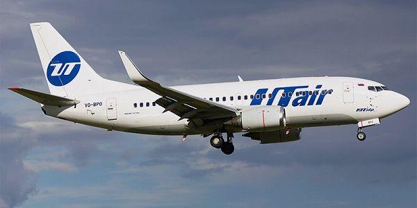 Самолет Utair – российской авиакомпании
