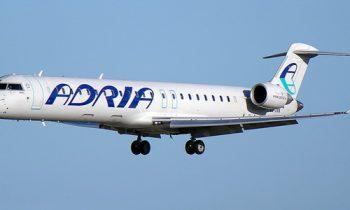 Самолет с символикой «Адрии»