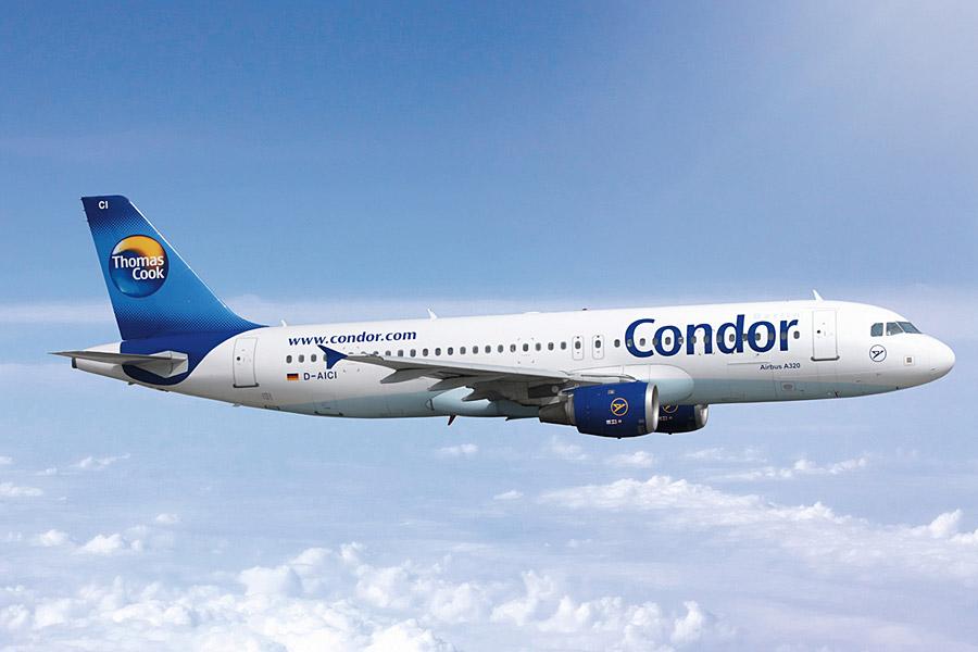 Самолет авиакомпании Кондор