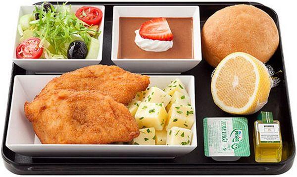 Разнообразное питание на борту
