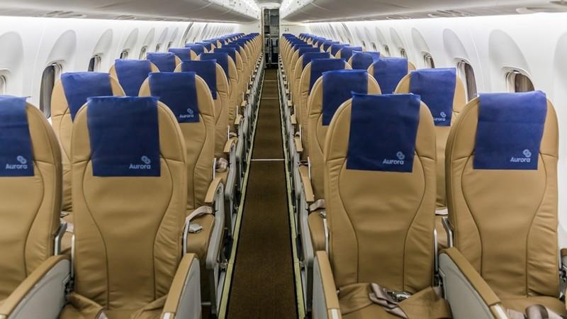 На борту самолета Авроры