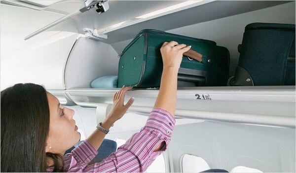Перевозка багажа на борту