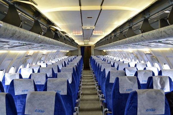 Салон самолётов компании Utair