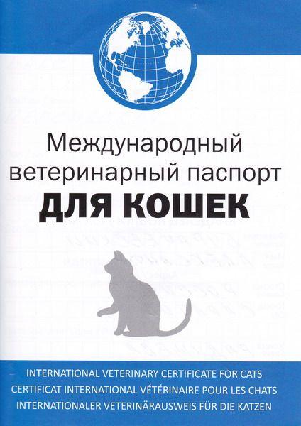 Паспорт питомца