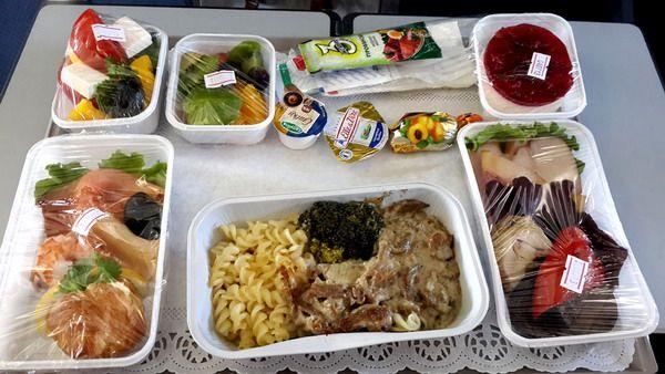 Еда в эконом классе