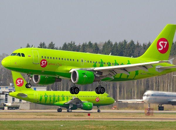 Самолеты компании S7