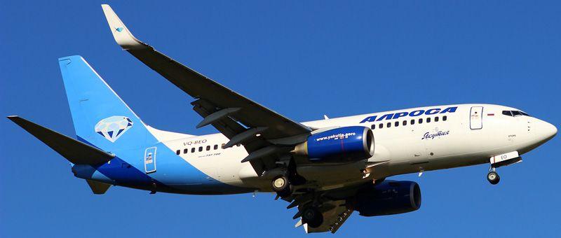 Самолет АО «Алроса»