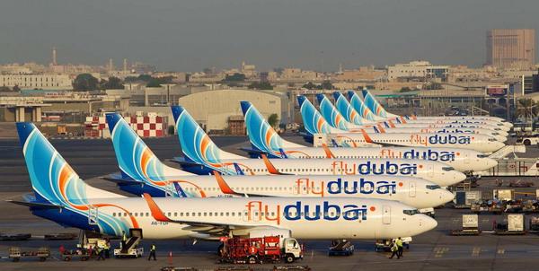 Самолеты Флайдубай