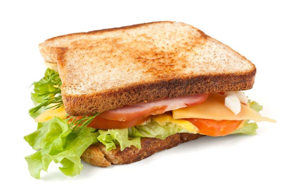 Бутерброды удобны в полёте