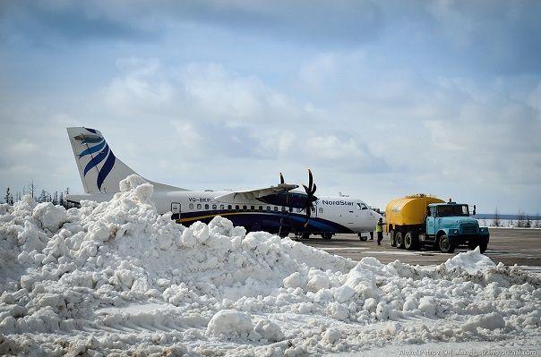 Самолет в родном аэропорту