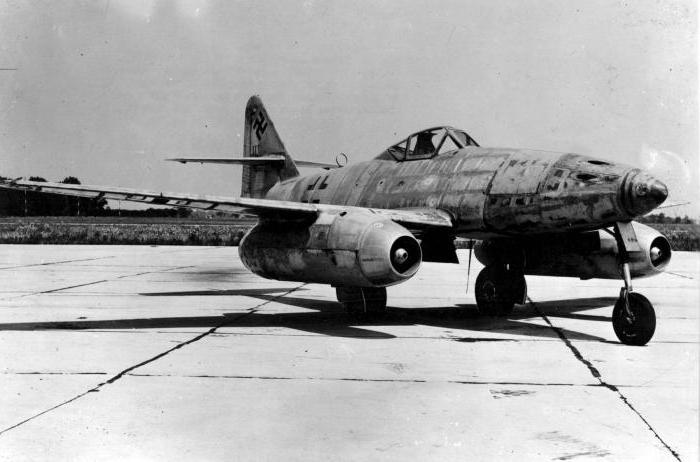 Первый реактивный самолет
