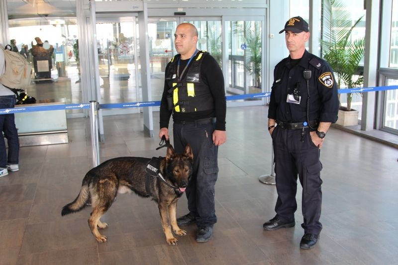 Служба безопасности в аэропорту Бен-Гурион