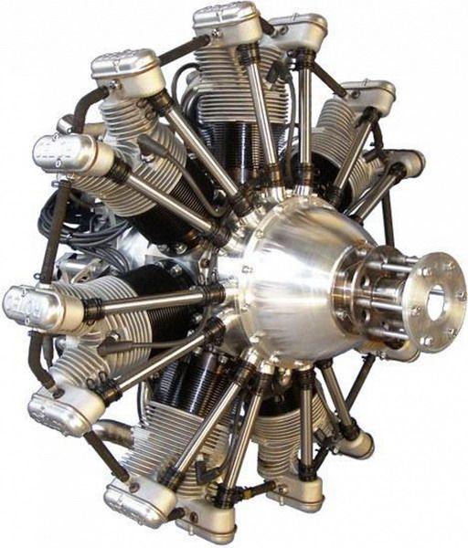 Поршневой авиадвигатель