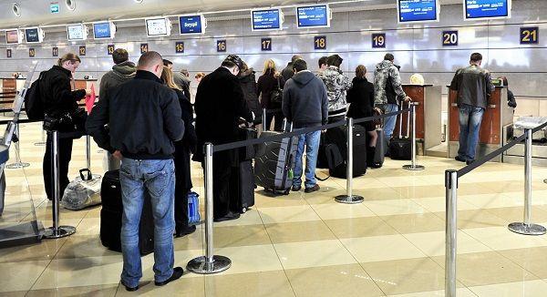 Регистрация на рейс начинается за 2 часа до вылета