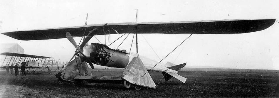 Как выглядел первый реактивный аэроплан Анри Коанда