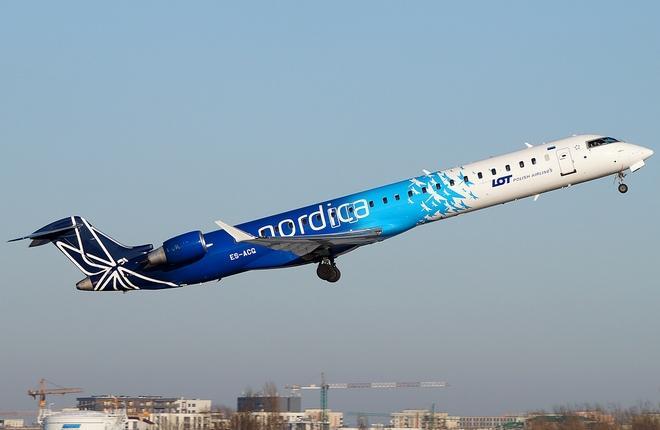 Самолет набирает высоту