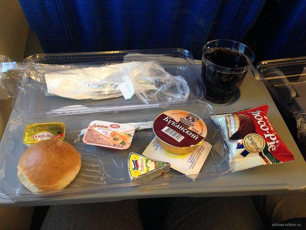 Легкие закуски на борту
