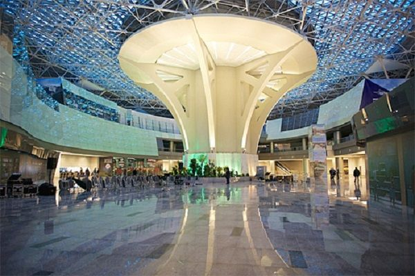 Аэропорт Внуково изнутри (терминал А)