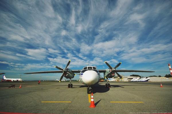 Ан-24 – «рабочая лошадка» авиакомпании