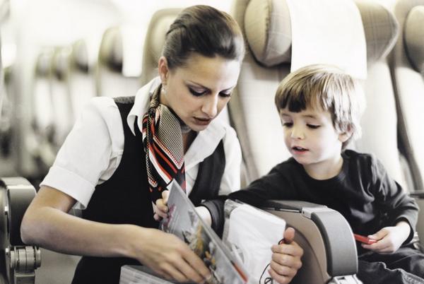 Персональное обслуживание для детей, летящих без родителей