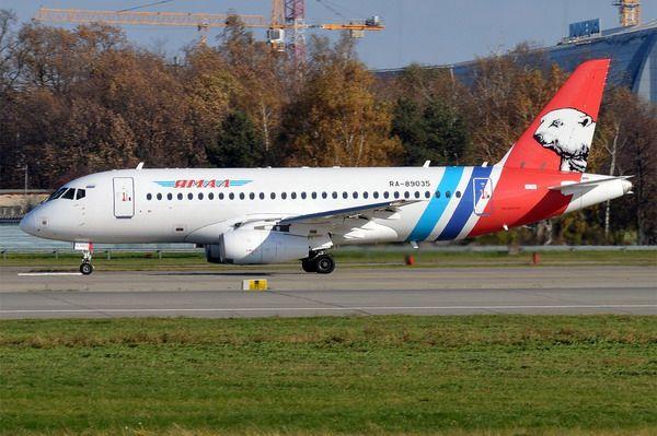 Sukhoi SuperJet 100-95LR – новейшие лайнеры авиакомпании «Ямал»