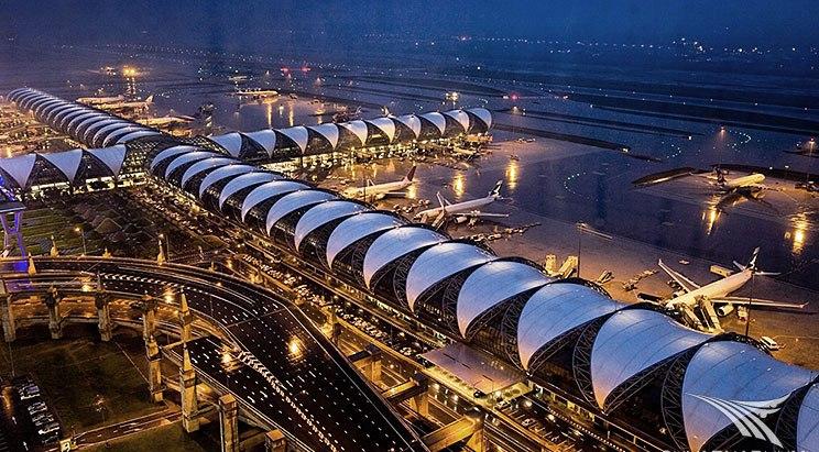 Аэропорт Суварнабхуми является хабом авиакомпании Тайэрвейс