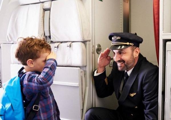 Добро пожаловать на борт самолета!