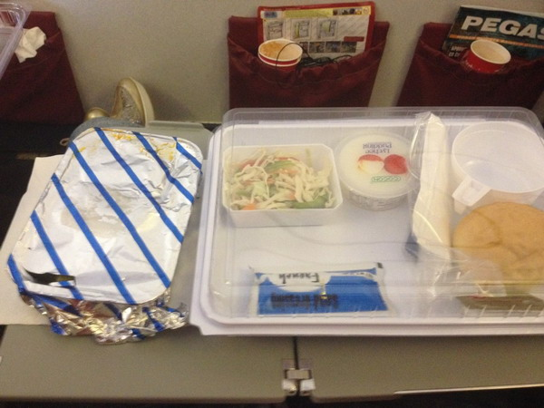 Питание на борту определяется длительностью полета