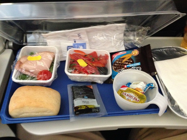 Бесплатное питание на борту