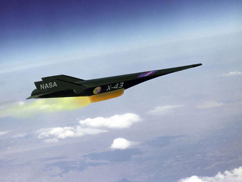 Гиперскоростной Boeing X-43