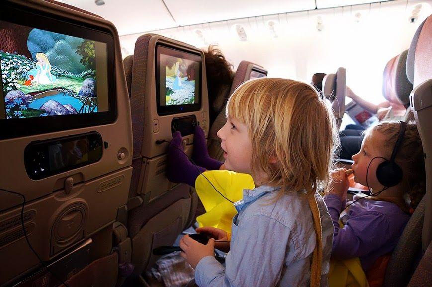 Удобства для маленьких пассажиров