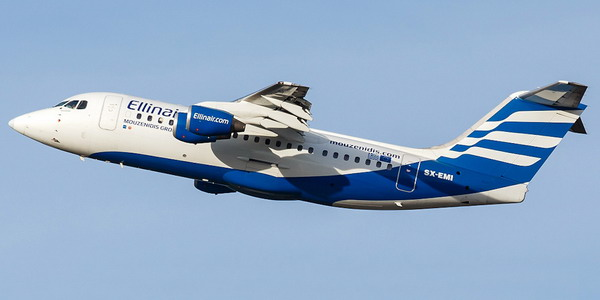 Авиалайнер AVRO RJ-85