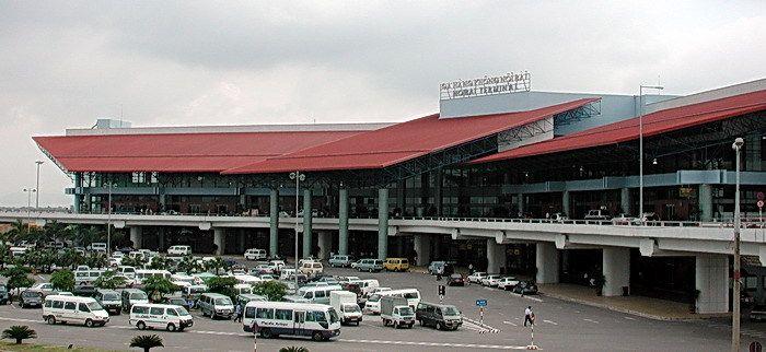 Необычная архитектура аэропорта в Ханое