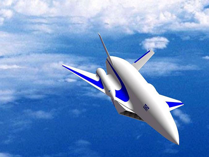 ZEHST – будущее гражданской авиации