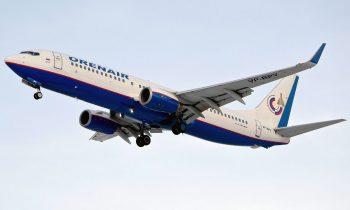 Самолет авиакомпании Оренэйр