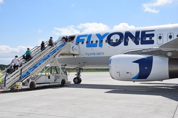 Посадка пассажиров на рейс Воронеж-Кишинев
