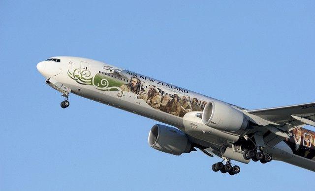 Необычный дизайн самолетов авиакомпании AirNewZealand