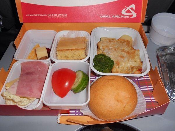 Экономическое питание на рейсе Тель-Авив – Екатеринбург