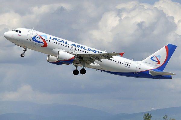 Airbus A320 в полете