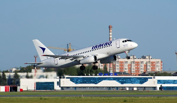 Гордость авиакомпании – Сухой Суперджет