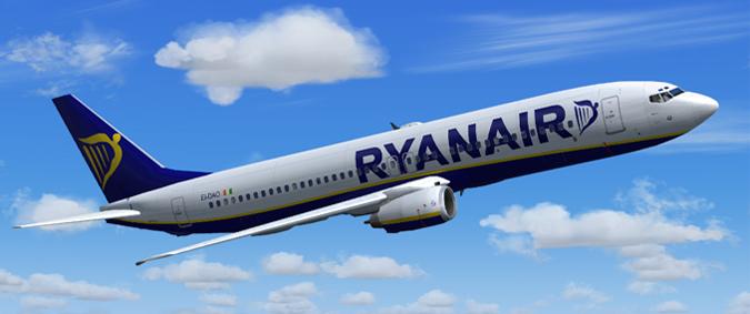 Пользующийся популярностью лоукостер Ryanair