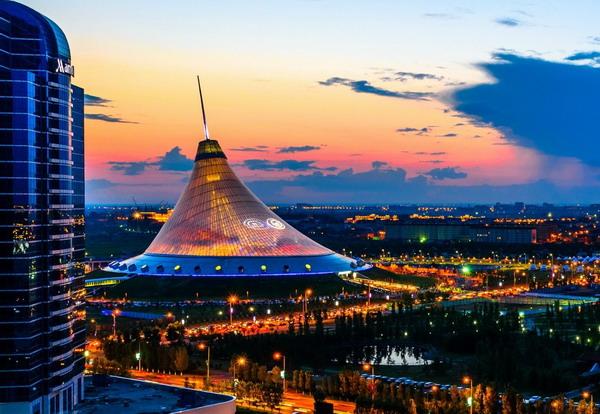 Вид на Казахстан