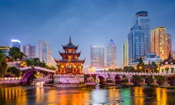 Вид на Китай