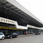 Главный вход в аэропорт