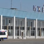 Терминал аэропорта Ижевск