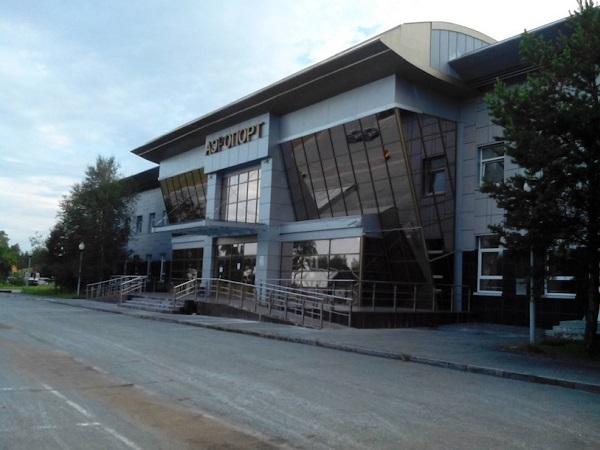 Здание аэропорта Белоярский