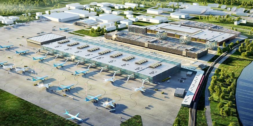 Проект аэропорта Раменское