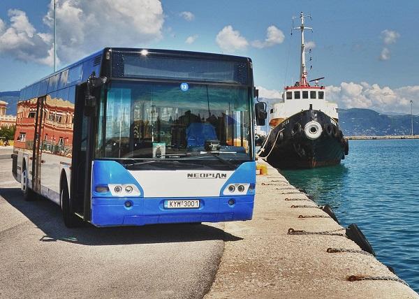 Городские автобусы в Греции